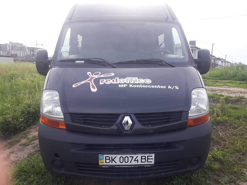 Renault Master груз.-пасс. 2008 в Ровно