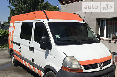 Легковой фургон (до 1,5 т) Renault Master груз.-пасс. 2006 в Житомире