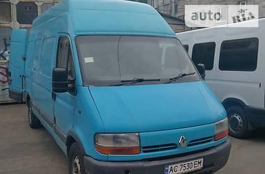 Микроавтобус грузовой (до 3,5т) Renault Master груз. 2001 в Луцке