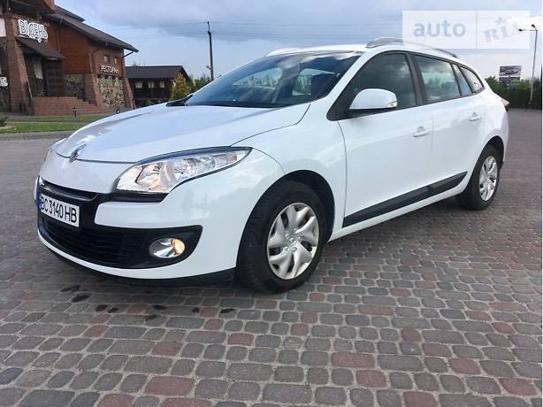 Renault Megane 2013 в Львові