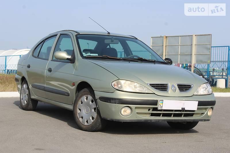 Renault Megane 2002 года