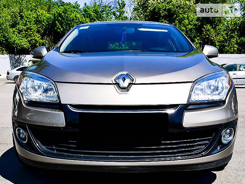 Renault Megane 2014 года