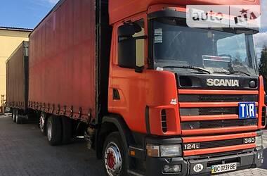 Scania 124 1999 в Львове