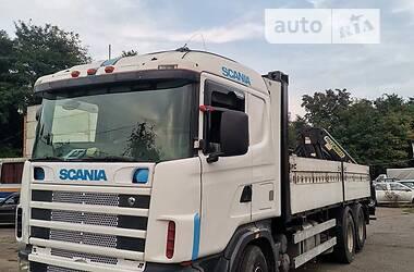 Кран-манипулятор Scania 124 2001 в Виннице