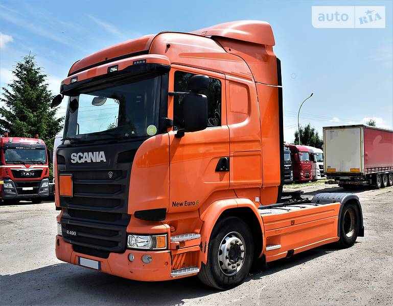 Тягач Scania R 490 2014 в Львові