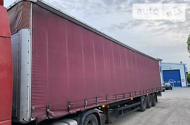 Тентованный борт (штора) - полуприцеп Schmitz Cargobull S01 2008 в Луцке