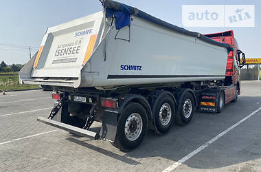 Самоскид напівпричіп Schmitz Cargobull SAF 2012 в Луцьку