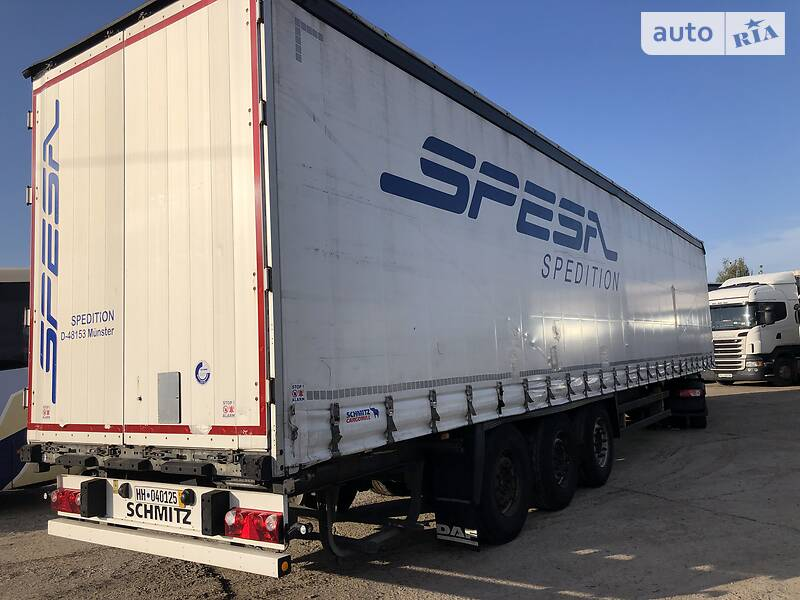 Schmitz Cargobull SCS 24/L13.62BS EB  shtora