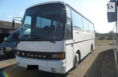 Туристический / Междугородний автобус Setra 211 HD 1989 в Чопе