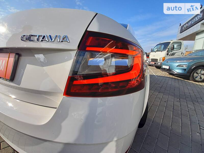 Skoda Octavia A7  2018