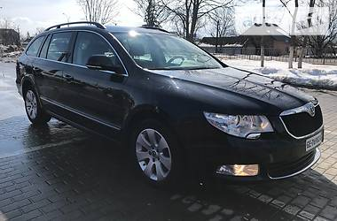 Skoda Superb 125KW 2012