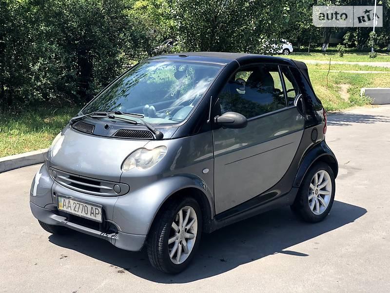 Smart Cabrio 2002 в Киеве