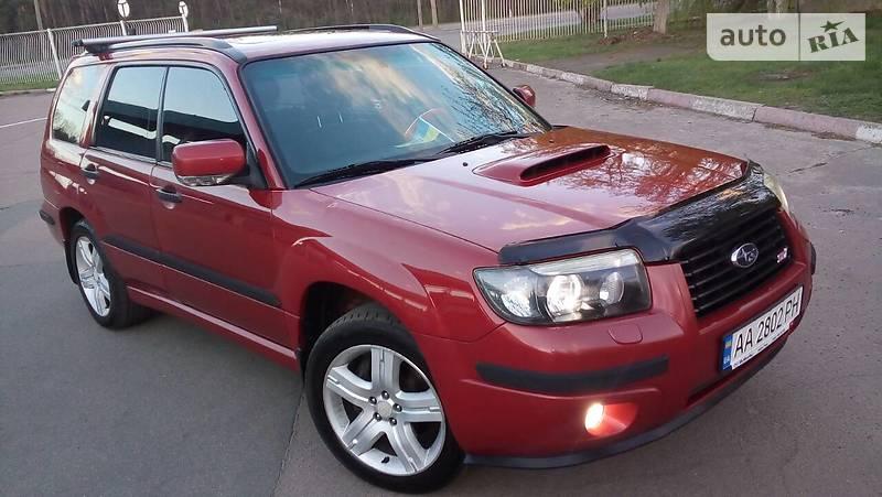 Subaru Forester 2007 года