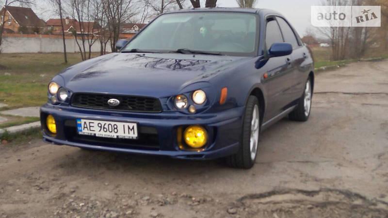 Subaru Impreza 2002 года