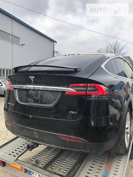 Tesla Model X 2017 года в Львове