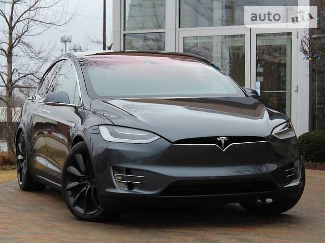 Tesla Model X 2016 года в Одессе
