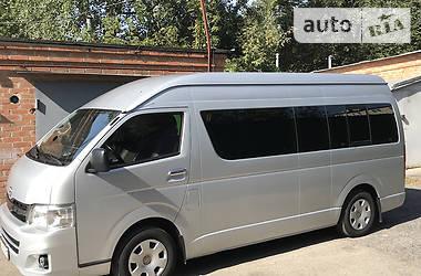 Микроавтобус (от 10 до 22 пас.) Toyota Hiace пасс. 2012 в Полтаве