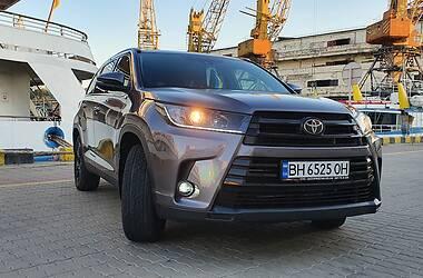 Позашляховик / Кросовер Toyota Highlander 2019 в Одесі
