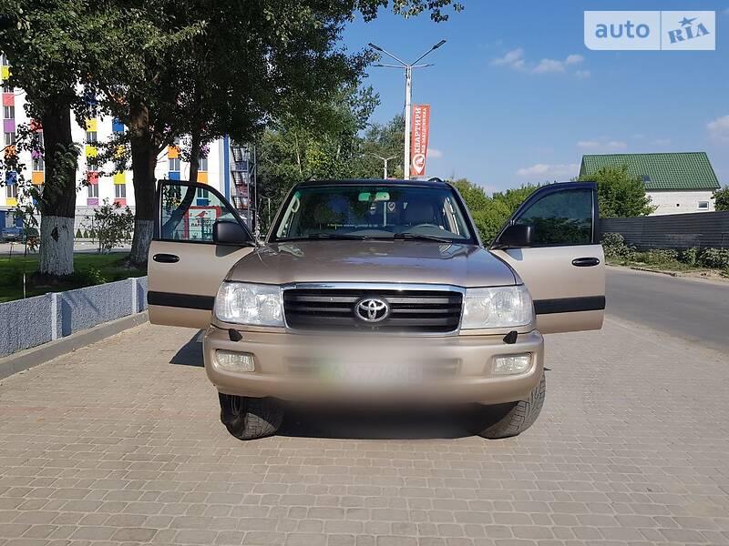 Позашляховик / Кросовер Toyota Land Cruiser 100 2006 в Харкові