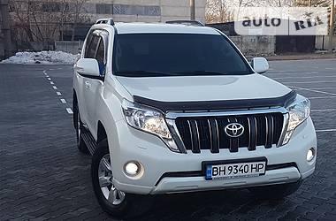Toyota Land Cruiser Prado WHITE PEARL DIESEL 2015