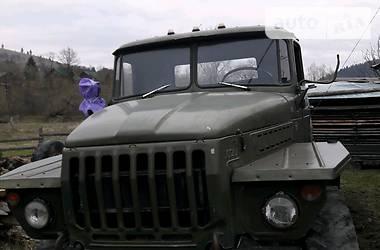 Урал 4320 1985 в Верховине