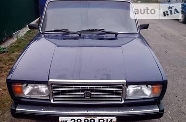 ВАЗ 2107  1986
