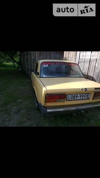 Lada (ВАЗ) 2107 1989 года в Ивано-Франковске