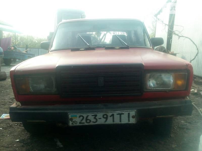 Седан ВАЗ 2107 1991 в Чернівцях