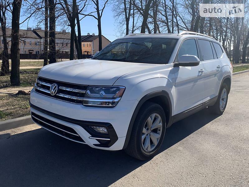 Позашляховик / Кросовер Volkswagen Atlas 2017 в Києві