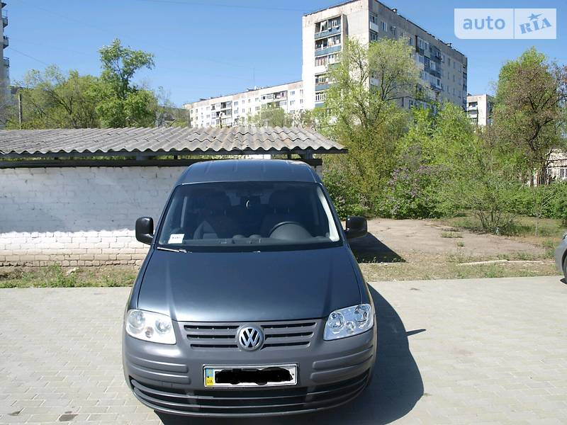 Volkswagen Caddy пасс. 2007 в Северодонецке