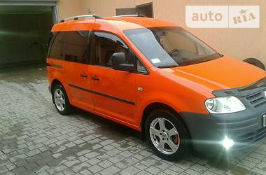Volkswagen Caddy пасс. 2007
