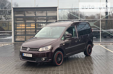 Volkswagen Caddy пасс. 2013 в Луцке