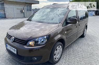 Легковий фургон (до 1,5т) Volkswagen Caddy пасс. 2012 в Львові