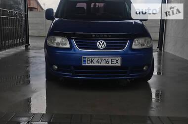 Минивэн Volkswagen Caddy пасс. 2010 в Ровно