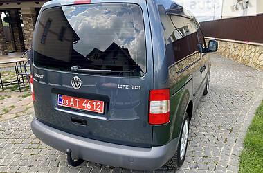 Минивэн Volkswagen Caddy пасс. 2009 в Тернополе