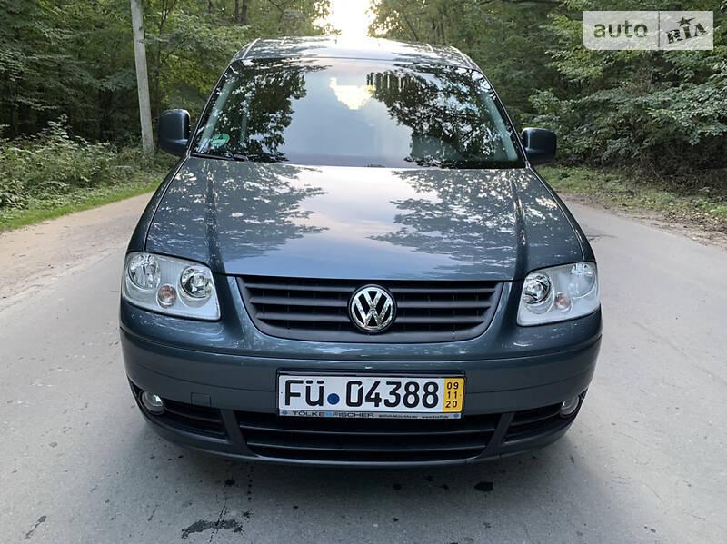 Volkswagen Caddy пасс. life