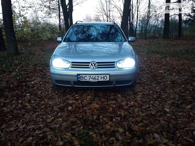 Унiверсал Volkswagen Golf IV 2002 в Львові