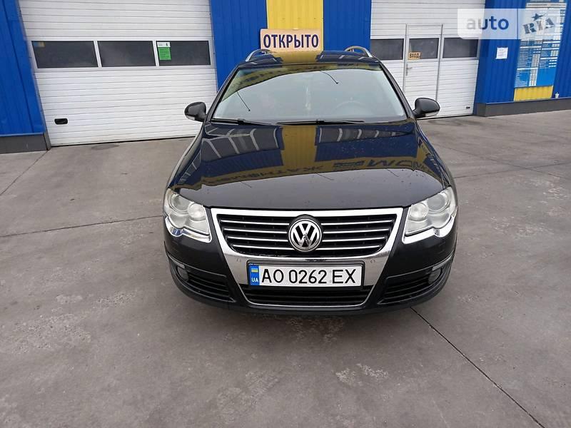 Volkswagen Passat B6 Restaling