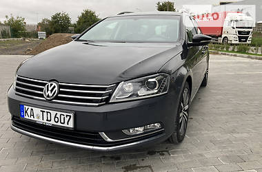 Унiверсал Volkswagen Passat B7 2014 в Луцьку