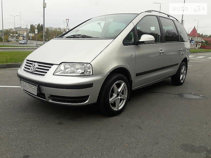 Мінівен Volkswagen Sharan 2000 в Вінниці