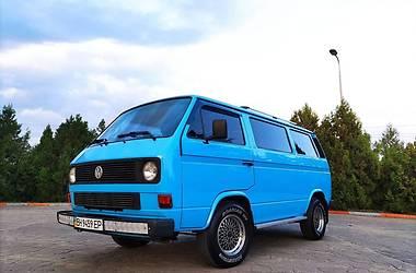 Микроавтобус грузовой (до 3,5т) Volkswagen T3 (Transporter) груз. 1988 в Черноморске