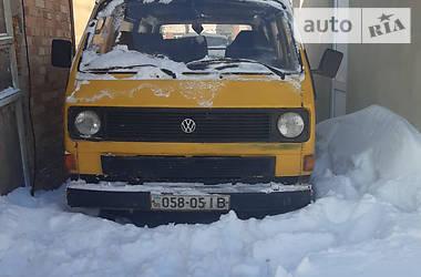 Volkswagen T3 (Transporter) пас. 1988 в Луцьку