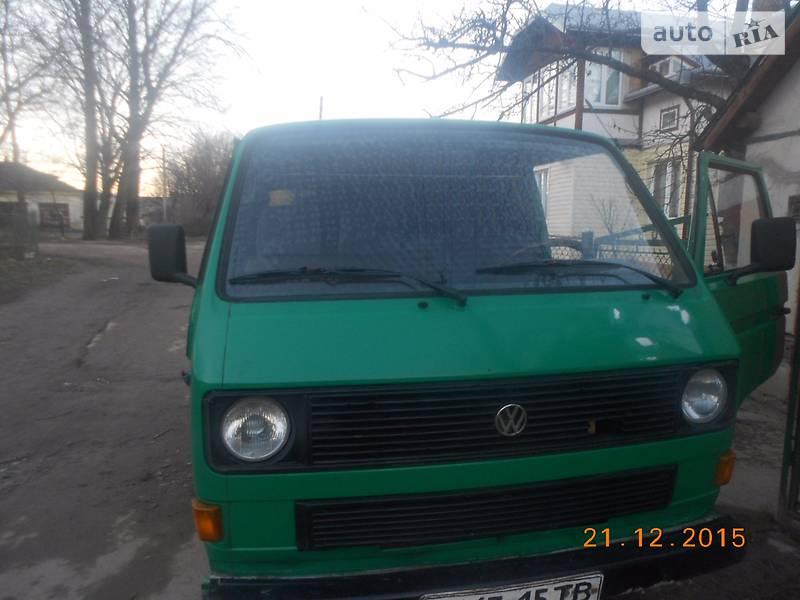 Volkswagen T3 (Transporter) 1986 в Бориславе