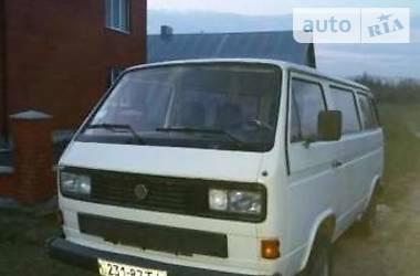 Volkswagen T3 (Transporter) 1986 в Тернополе
