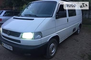 Volkswagen T4 (Transporter) груз-пасс. 2002 в Ивано-Франковске