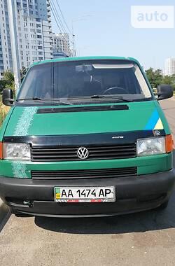 Легковий фургон (до 1,5т) Volkswagen T4 (Transporter) груз-пасс. 1999 в Києві