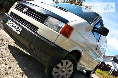 Volkswagen T4 (Transporter) груз 1997 в Черновцах
