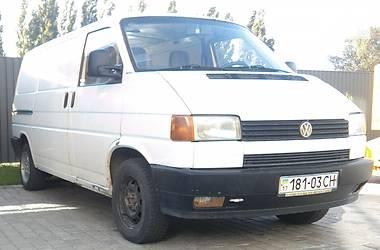 Фургон Volkswagen T4 (Transporter) груз. 1993 в Кременчуге