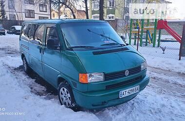 Легковой фургон (до 1,5 т) Volkswagen T4 (Transporter) пасс. 2002 в Ивано-Франковске