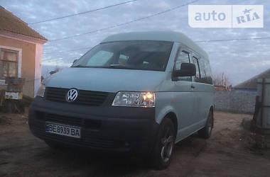 Легковой фургон (до 1,5 т) Volkswagen T5 (Transporter) груз-пасс. 2006 в Николаеве
